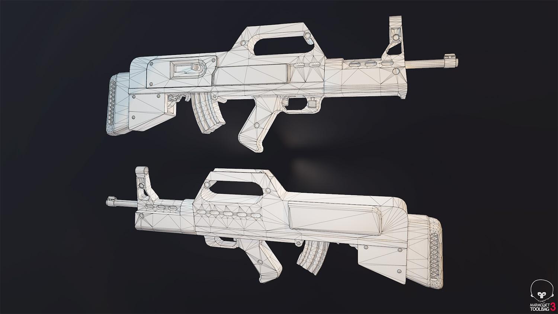 Łukasz Liszko - 3D game art - Muzzelite MZ-14