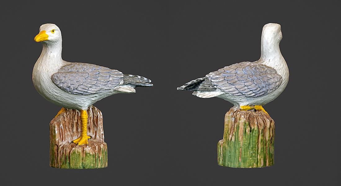 Łukasz Liszko - 3D scans / photogrammetry - Bird Sculpture