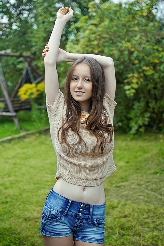 Łukasz Liszko - fotografia - modelka Sylwia Bajera