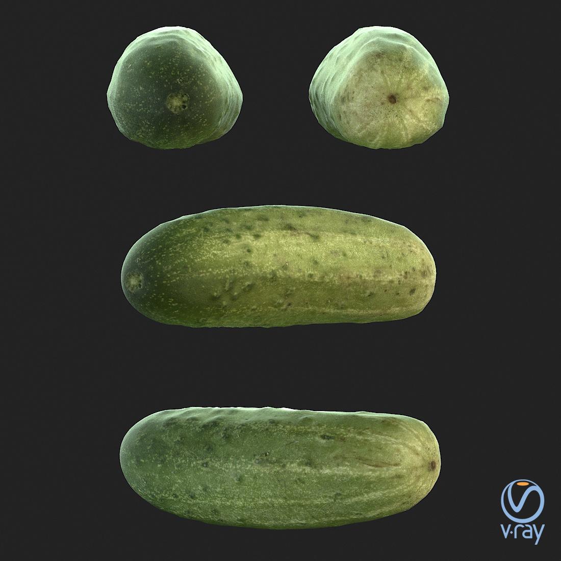 Łukasz Liszko - 3D scans / photogrammetry - Cucumber 02