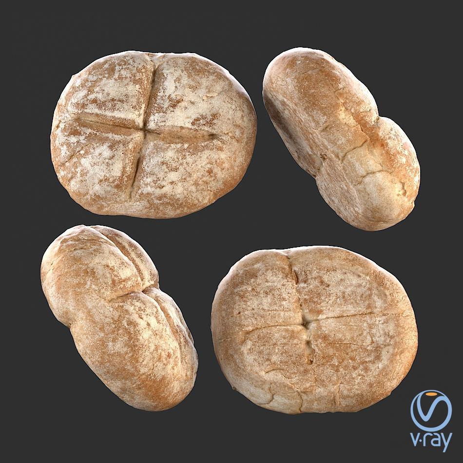 Łukasz Liszko - 3D scans / photogrammetry - Bread roll