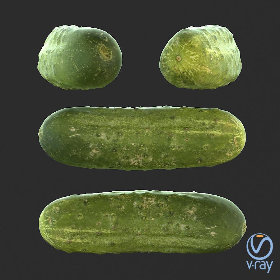 Łukasz Liszko - 3D scans / photogrammetry - Cucumber 01