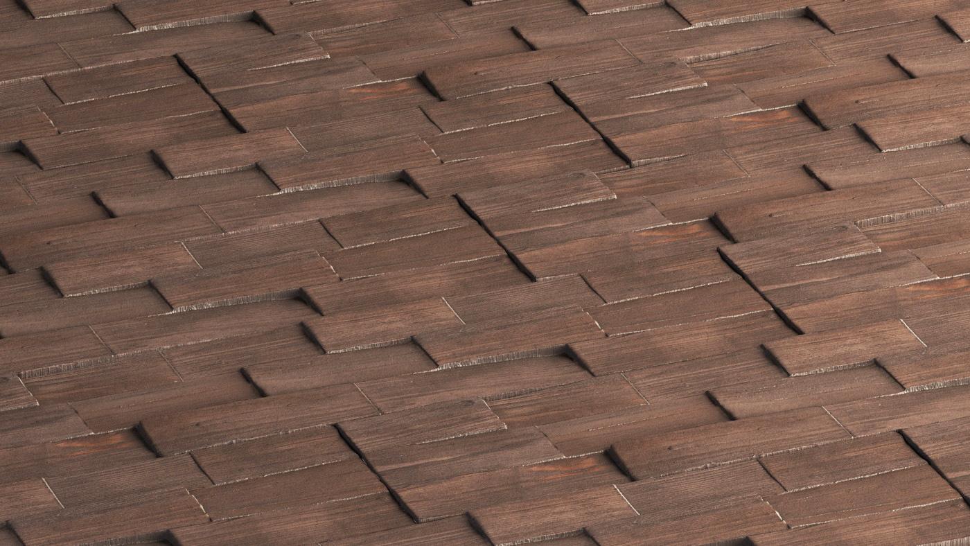 Łukasz Liszko - 3D scans / photogrammetry - Wood Wall Panels
