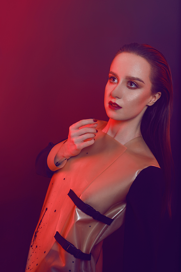 Łukasz Liszko - fotografia - modelka Sylwia Bajera - mua Małgorzata Paczuska - projektant Alyona Zozulia