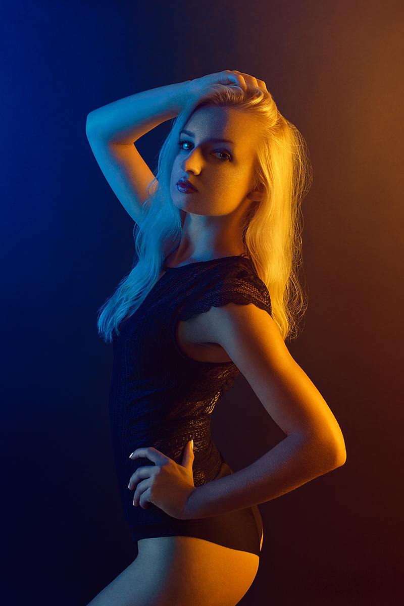 Łukasz Liszko - fotografia - modelka Karolina Lipska