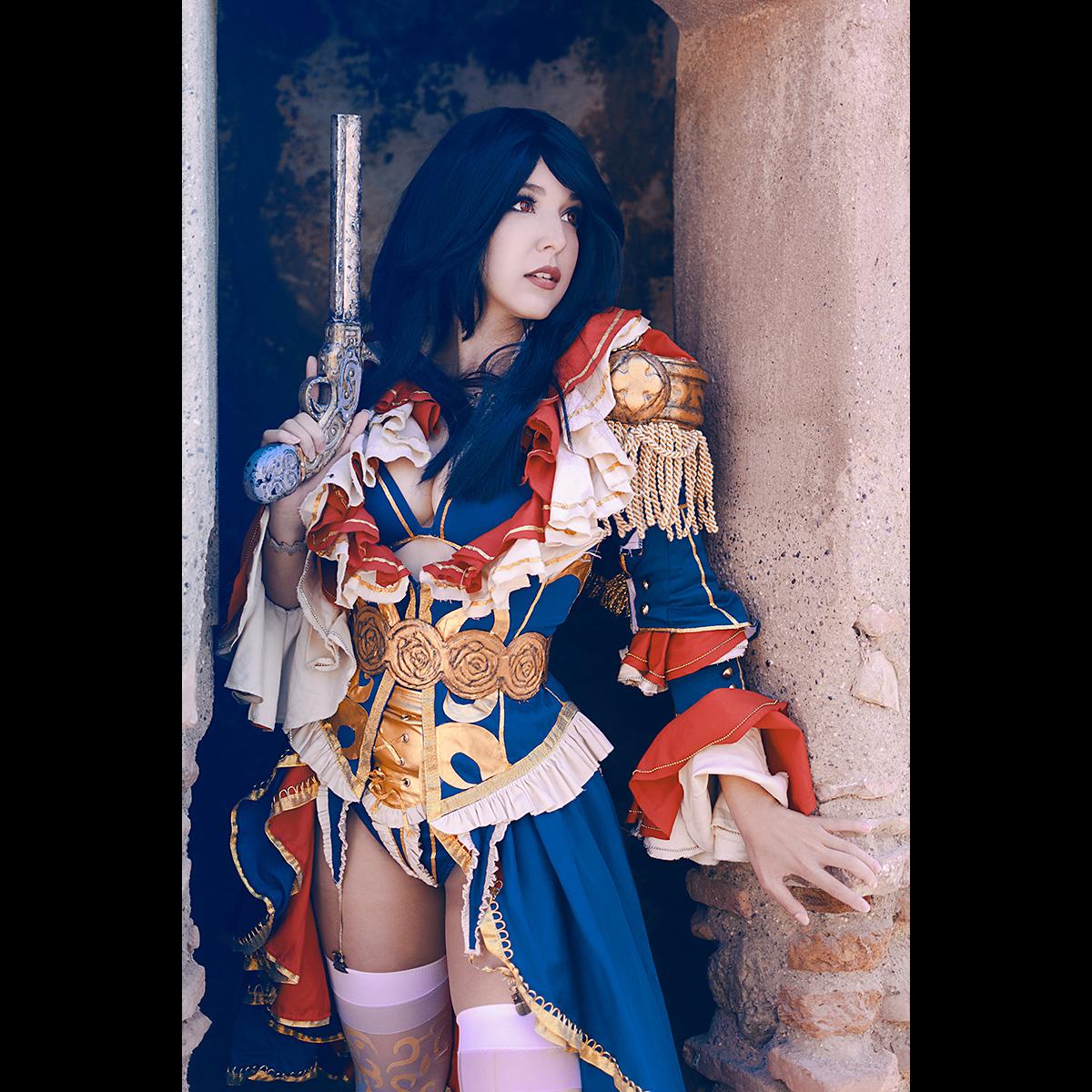 Łukasz Liszko - fotografia cosplay - Shermie - Musketeer Granado Espada