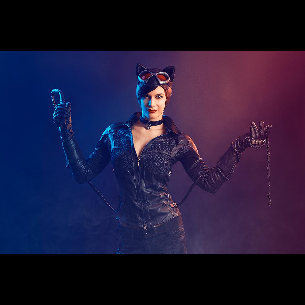 Łukasz Liszko - fotografia cosplay - Lynx Den - Catwoman Arkham City