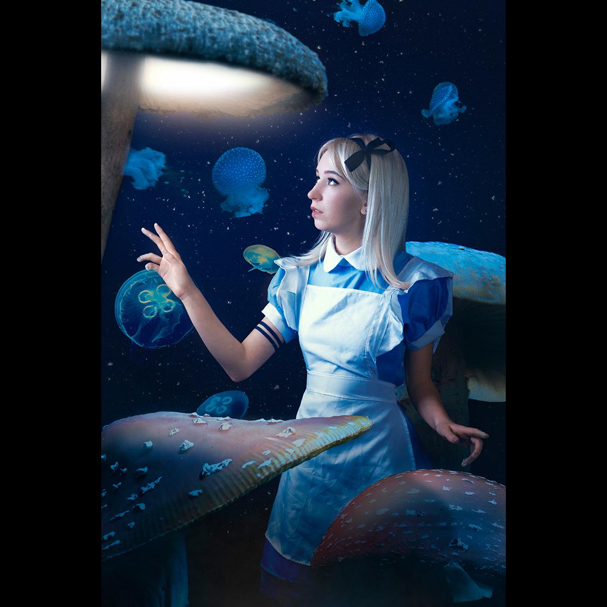 Łukasz Liszko - fotografia cosplay - Natalia Nowicka - Alice in Wonderland