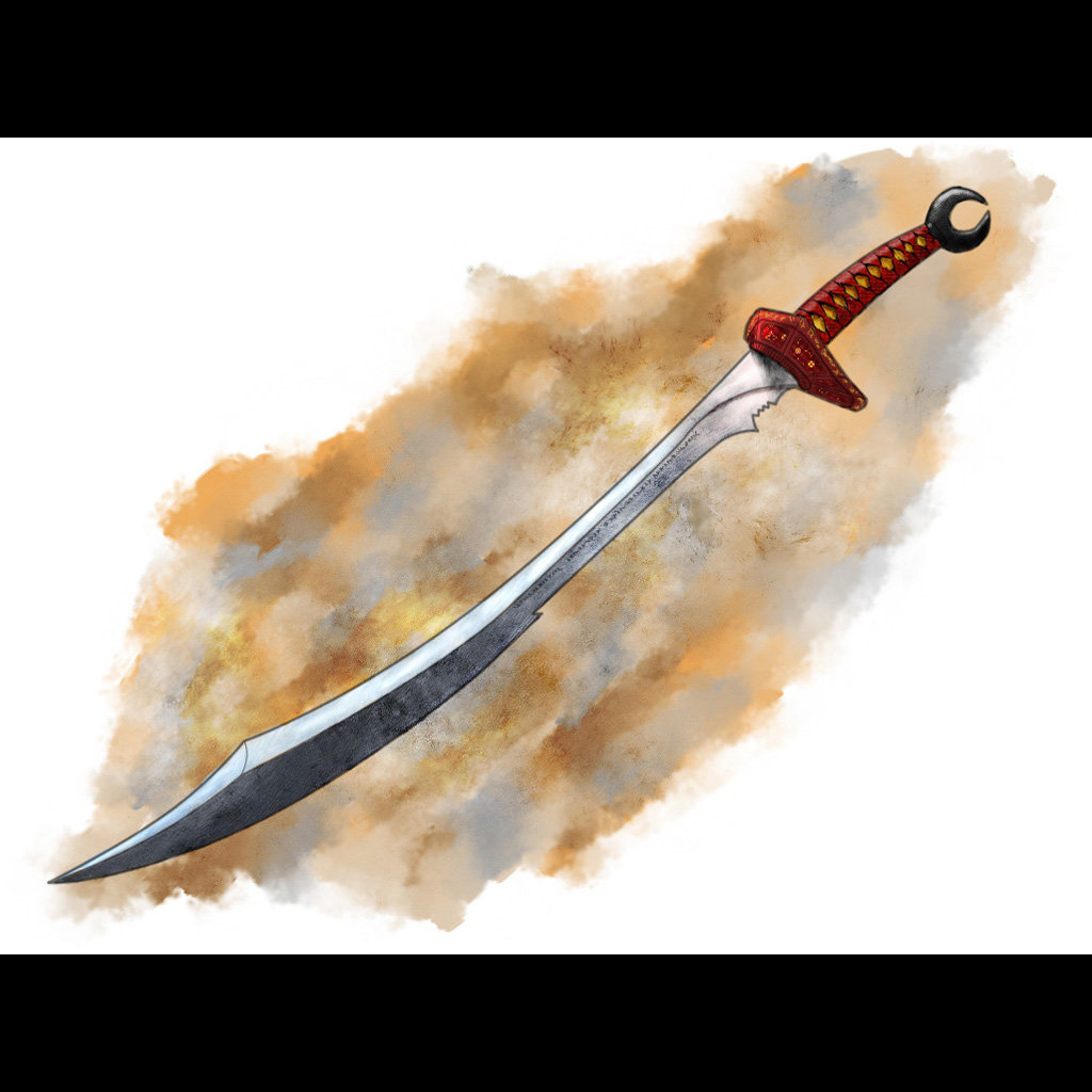 Łukasz Liszko - Concept Art - fantasy sword