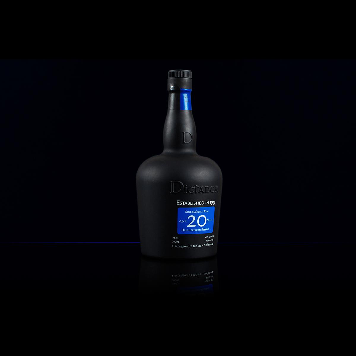 Łukasz Liszko - fotografia produktowa - packshots - Rum Dictador 20y