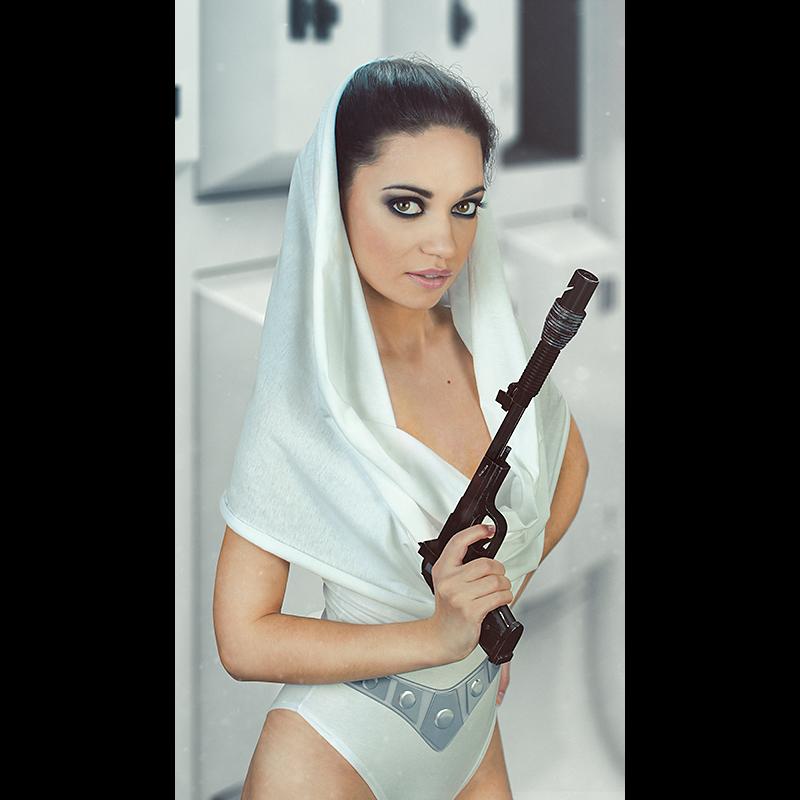 Łukasz Liszko - fotografia cosplay / CGI - Cristina Romanyk - Princess Leia
