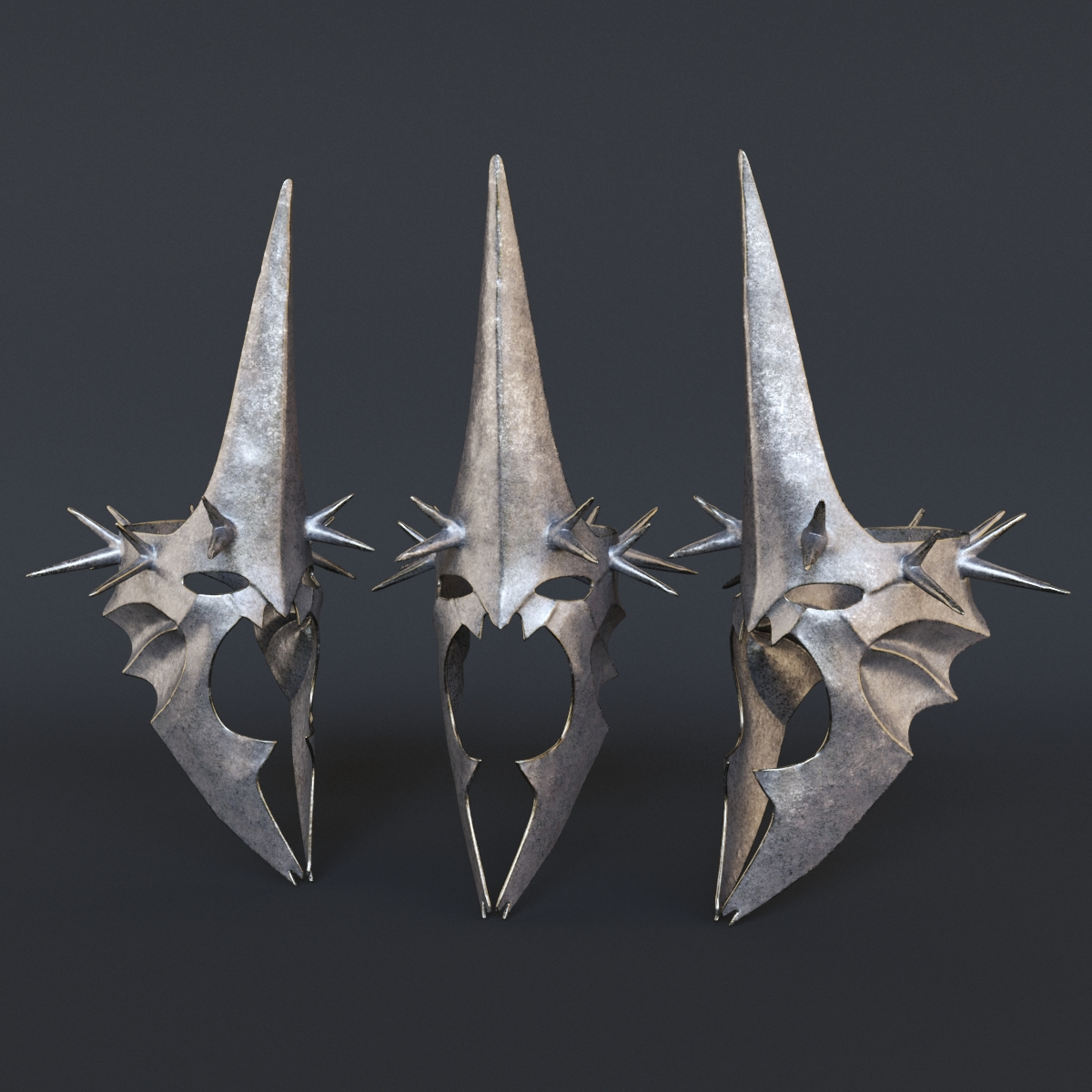 Łukasz Liszko - 3D - The Lord of the Rings Witchking helmet