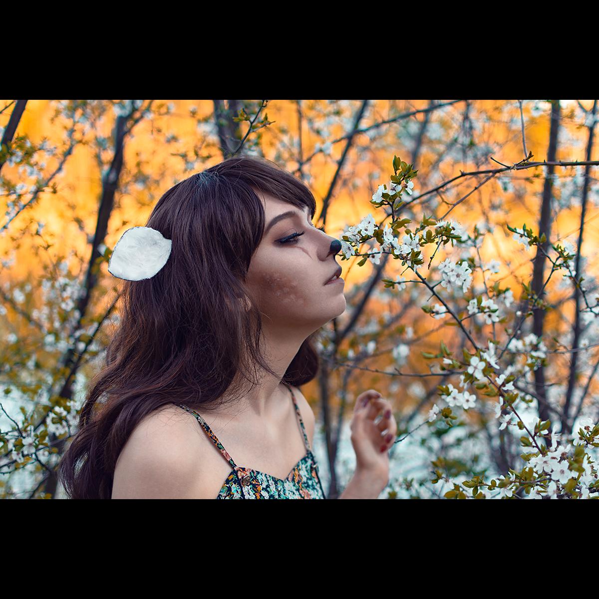 Łukasz Liszko - fotografia cosplay - Natalia Nowicka - Bambi