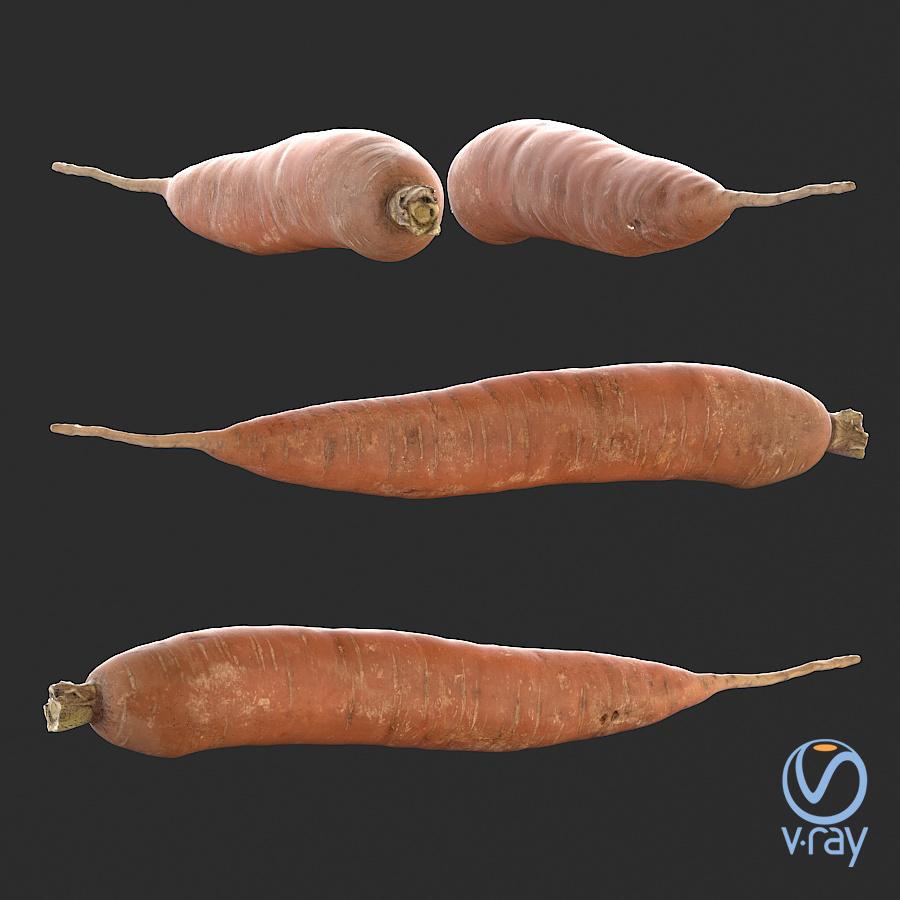 Łukasz Liszko - 3D scans / photogrammetry - Carrot 01