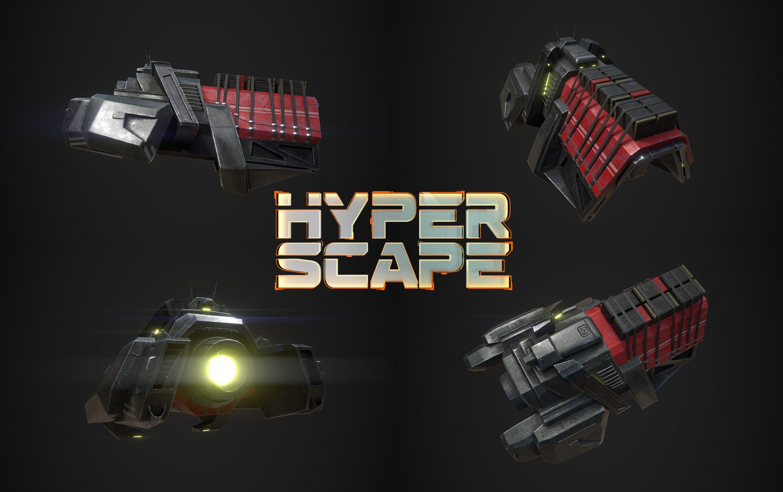 Łukasz Liszko - Hyper Scape - vehicle - Ubisoft